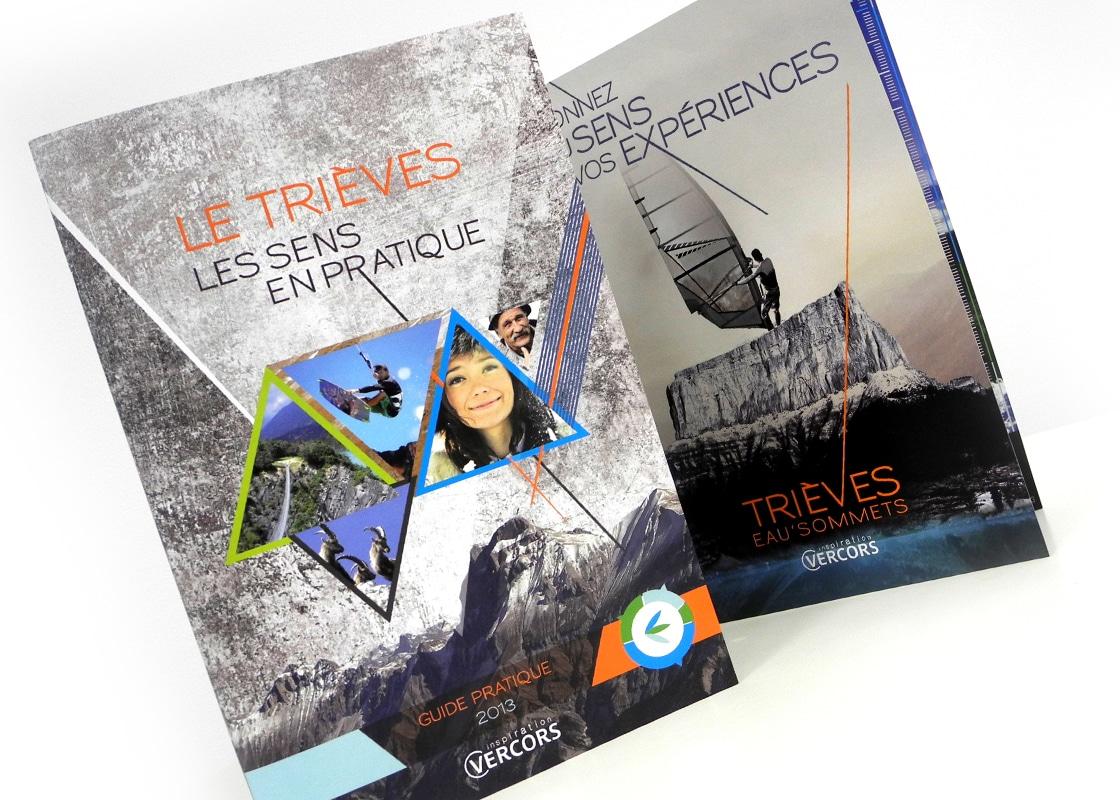 FX Com'Unik remporte l'appel d'offre pour la création de la brochure du Trièves