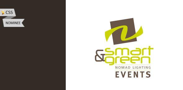 Smart & Green Events, nominé sur CSS Winner !