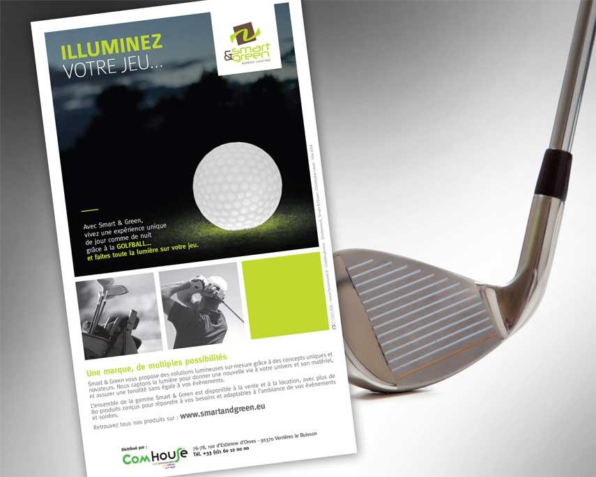 Smart & Green s'adresse aux golfeurs et ne perd pas sa trajectoire