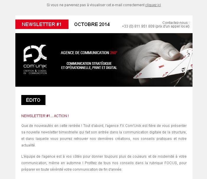 La nouvelle newsletter FX est arrivée !