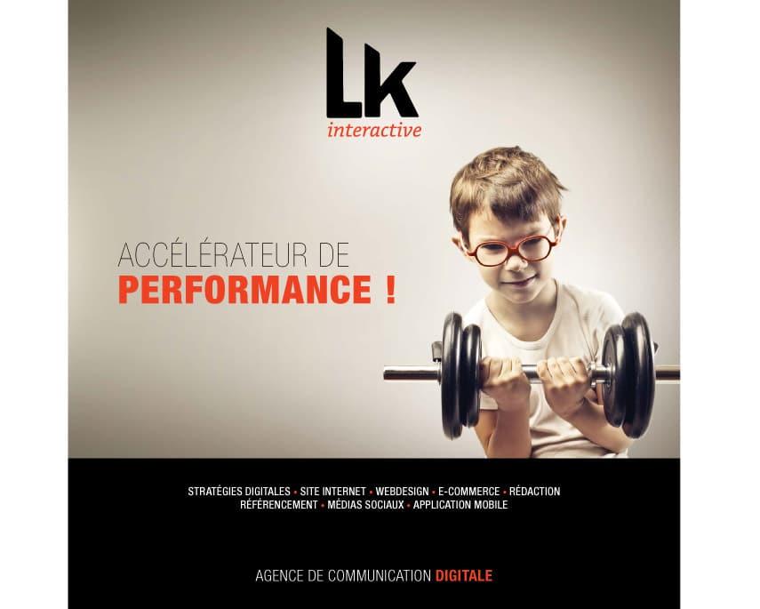L'accélaration visuelle de l'agence digitale LK Interactive
