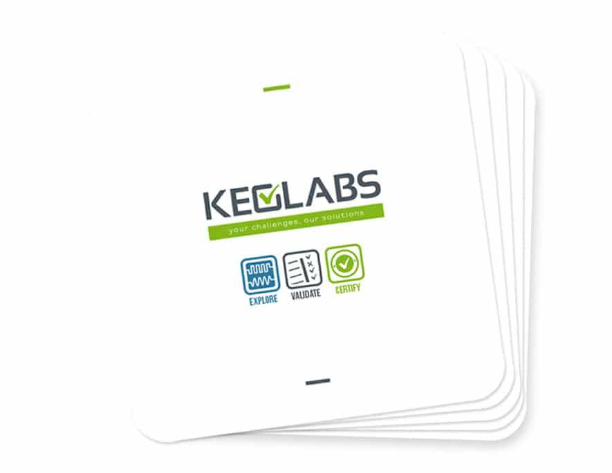 Keolabs : une plaquette institutionnelle pour l'entreprise aux puces électroniques