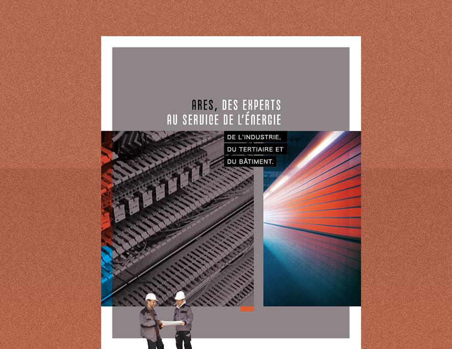 Arès : plaquette institutionnelle pour le génie de l'électrique