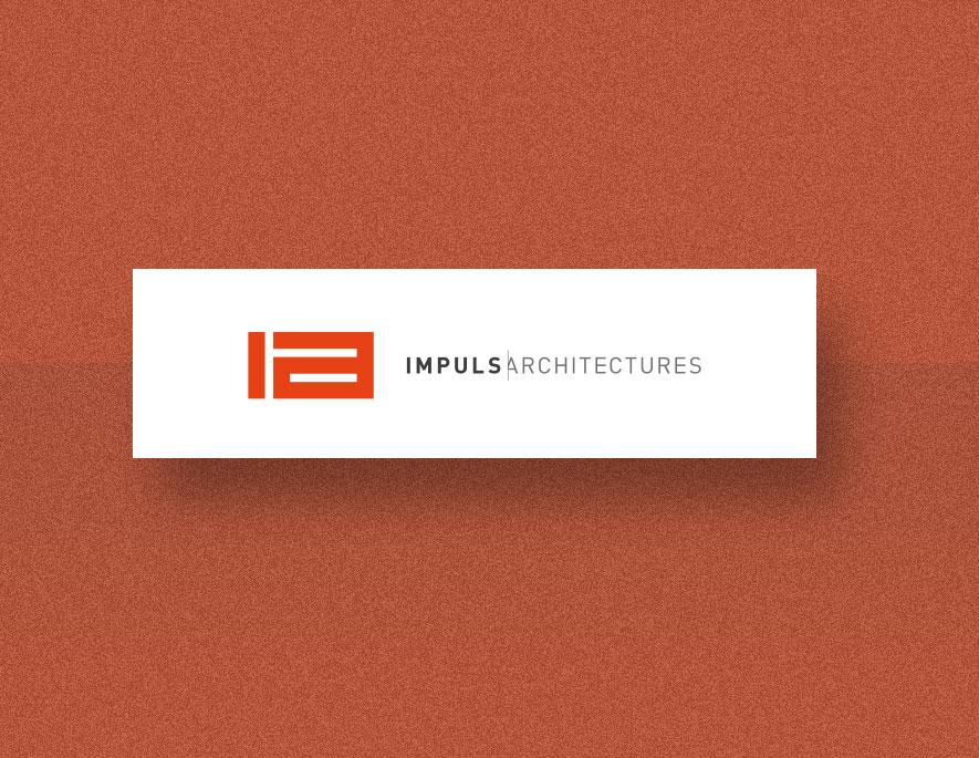 Impuls architectures : création d'identité visuelle pour cette nouvelle agence d'architectes