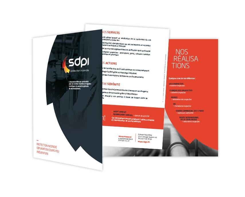 Plaquette commerciale SDPI