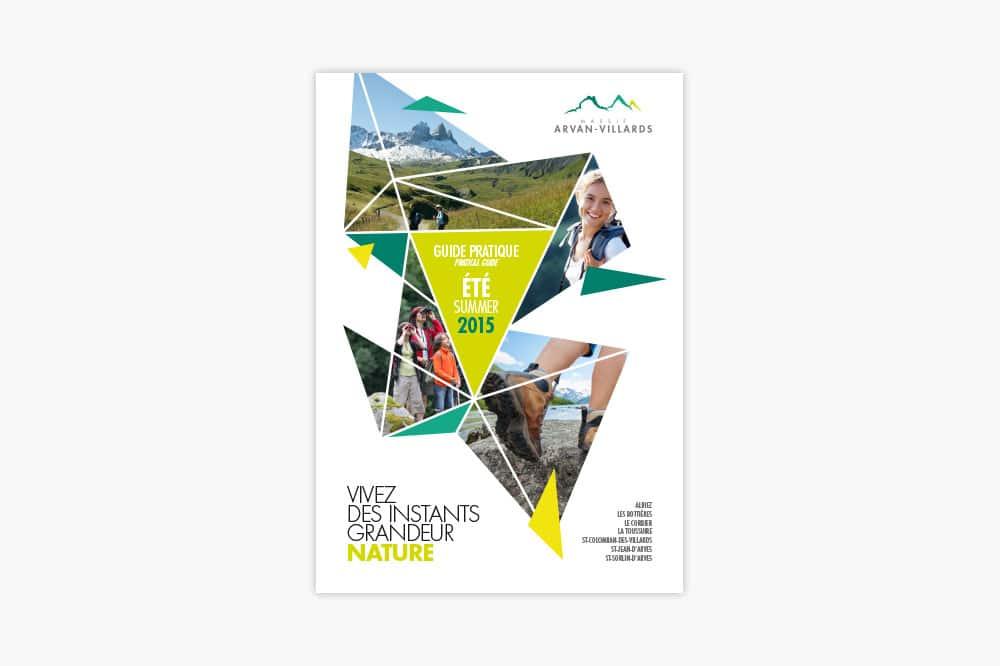 MAssif Arvan-Villards guide pratique été 2015