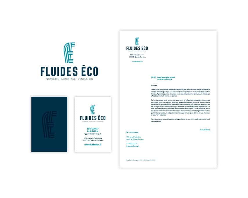 Fluides Eco logo