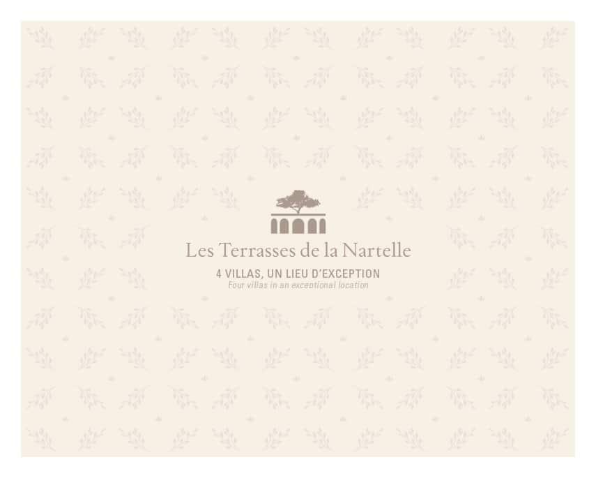 Les Terrasses de la Nartelle, direction plein sud