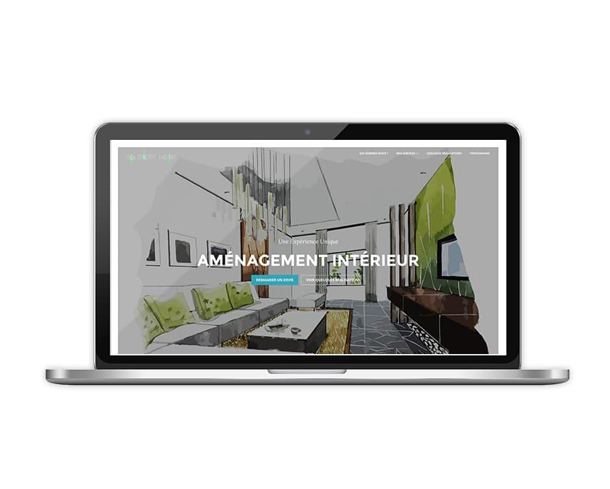 site web Idea Concept Habitat