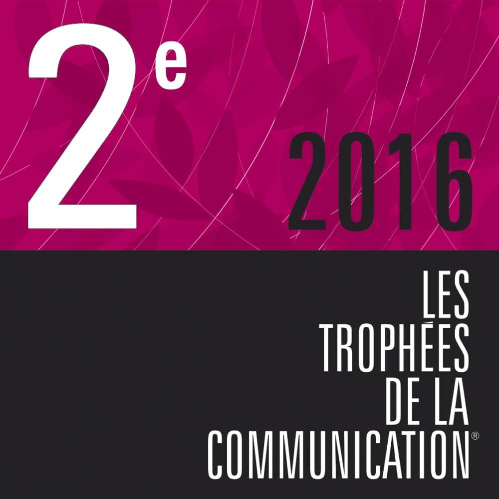 trophées de la communication 2016