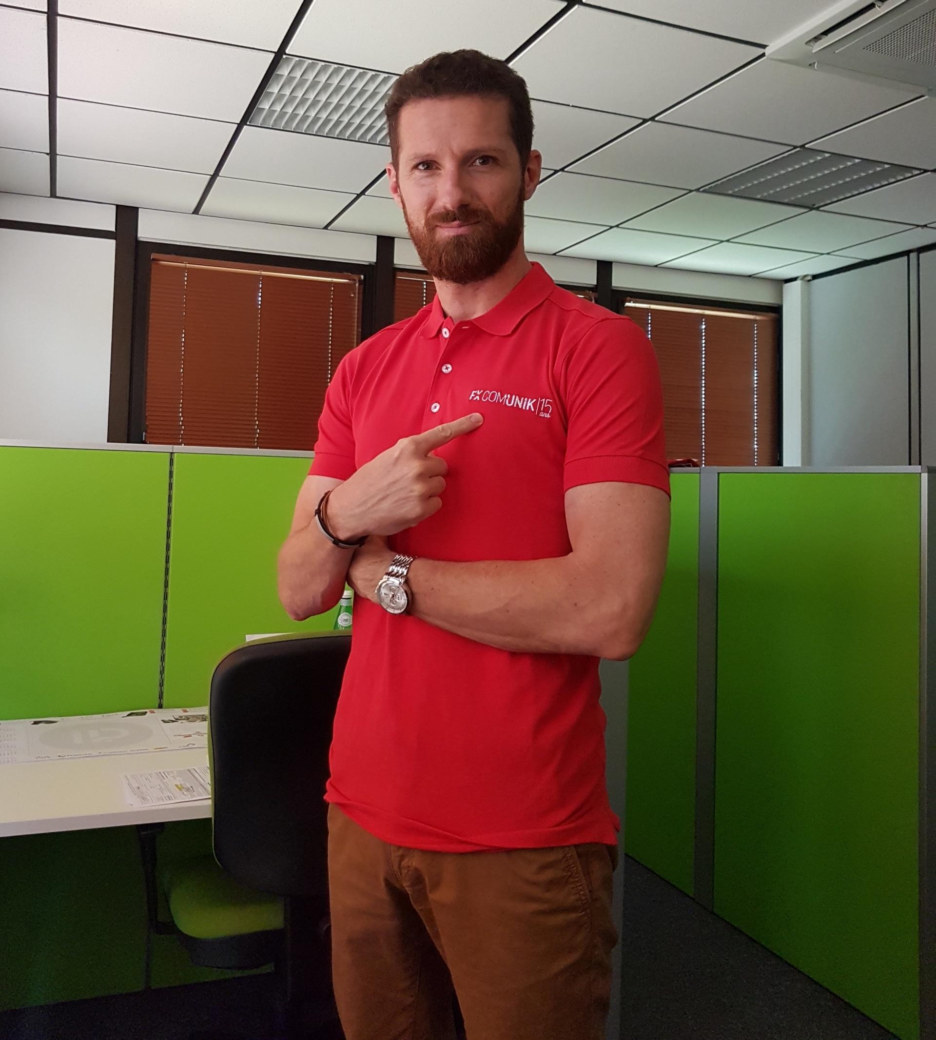 Guillaume Masuit, dirigeant de Hipcom