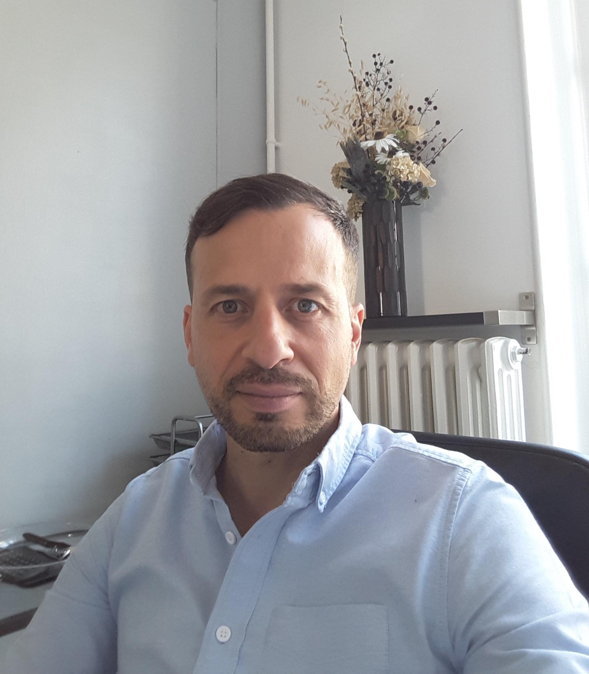Sylvain Bricard, dirigeant de Courtier&Prêt