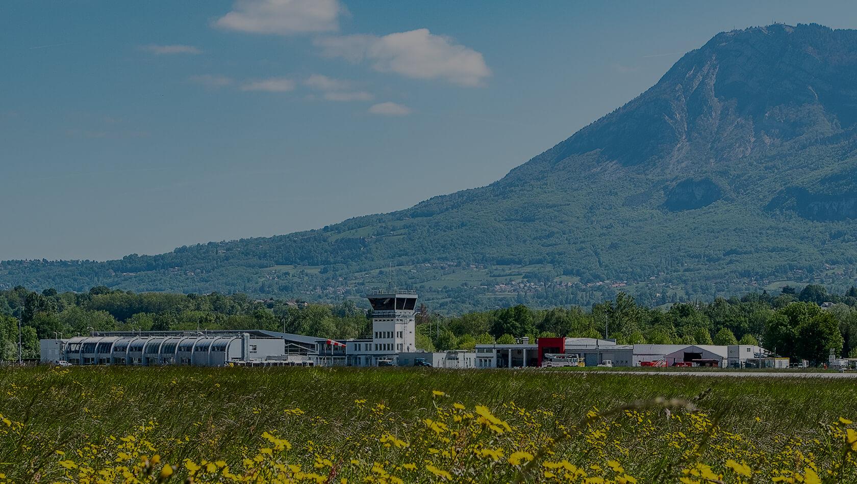 FX accompagne l'aéroport de Chambéry