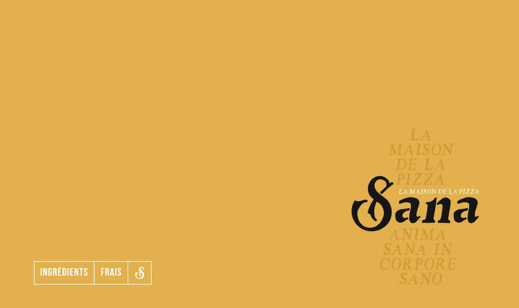 Pizza Sana : un site web pour le premier restaurant de la Maison Gammino